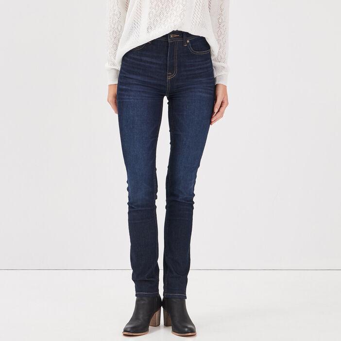 Jeans Ines - slim denim brut femme