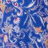Blouse manches courtes bleu lavande femme