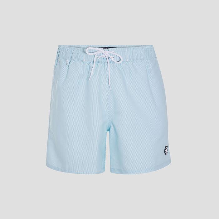 Short de bain bleu turquoise homme