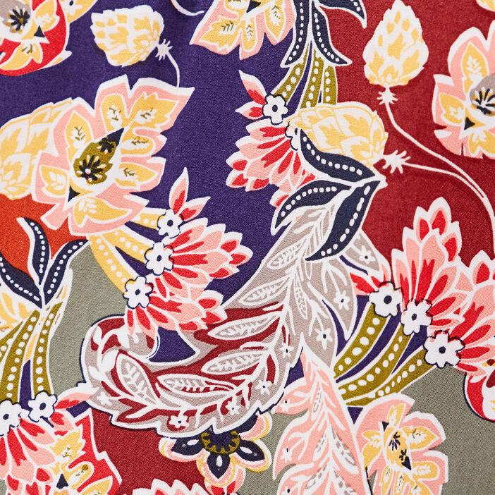 Caraco bretelles fines multicolore femme