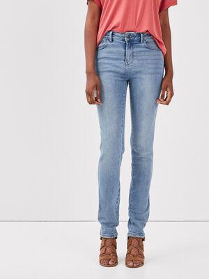 Jeans slim denim used femme