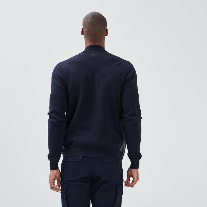 Pantalon battle bleu marine homme