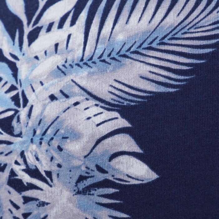 T-shirt éco-responsable bleu marine homme