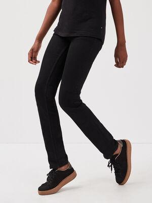 Jeans Fanny  regular denim noir femme