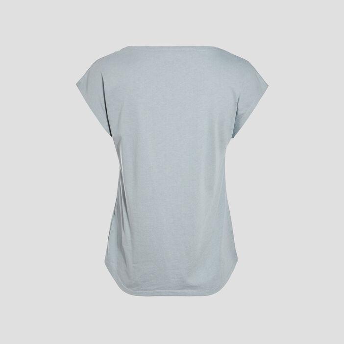 T-shirt manches courtes gris foncé femme