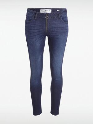 Jeans skinny Instinct denim brut femme