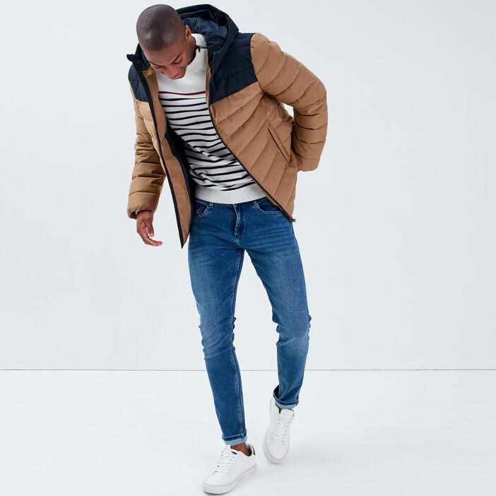 Jeans skinny 5 poches denim stone homme