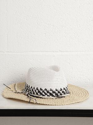 Chapeau ete sable femme