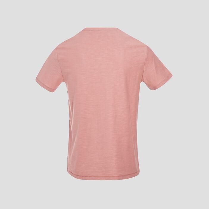 T-shirt manches courtes rose homme