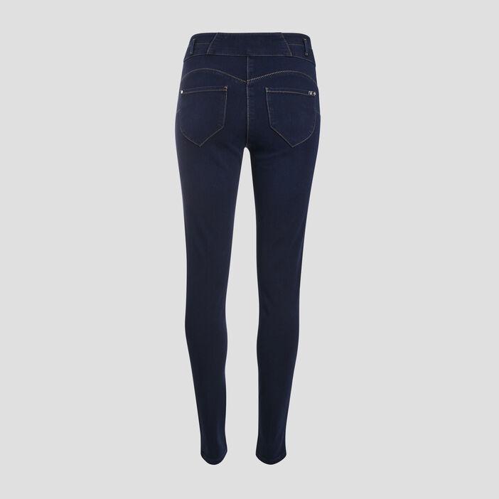 Jeans galbant et confortable denim stone femme
