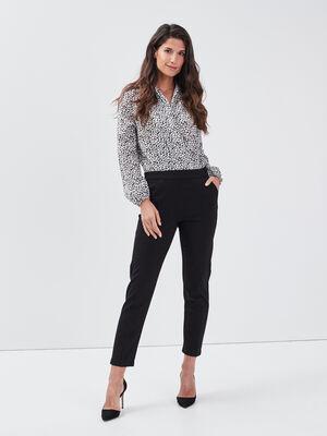 Combinaison pantalon 2 en 1 noir femme