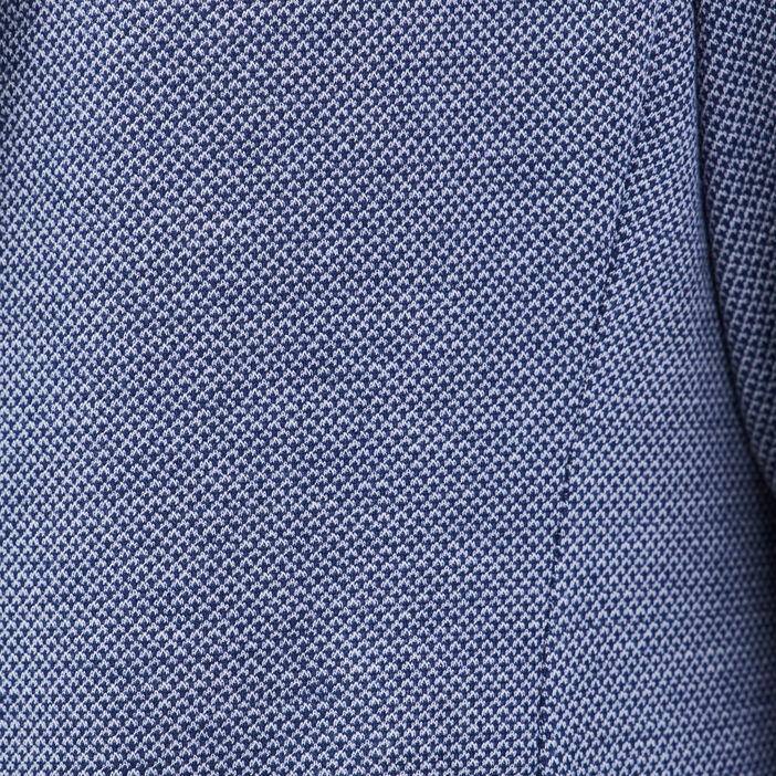 Veste city ajustée col cranté bleu marine femme