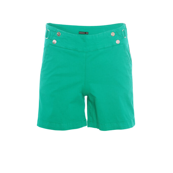 Short vert femme