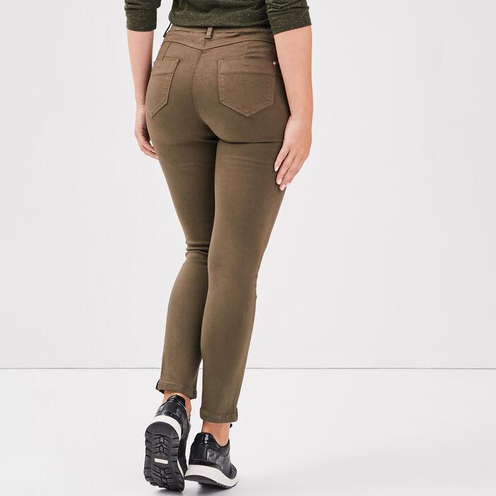 Tregging taille standard vert kaki femme