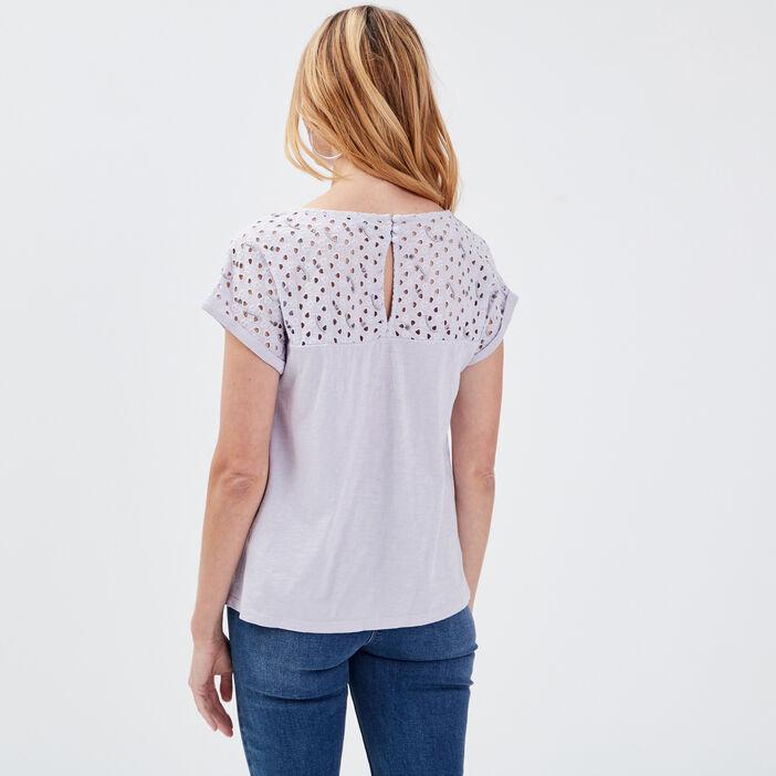 T-shirt manches courtes parme femme
