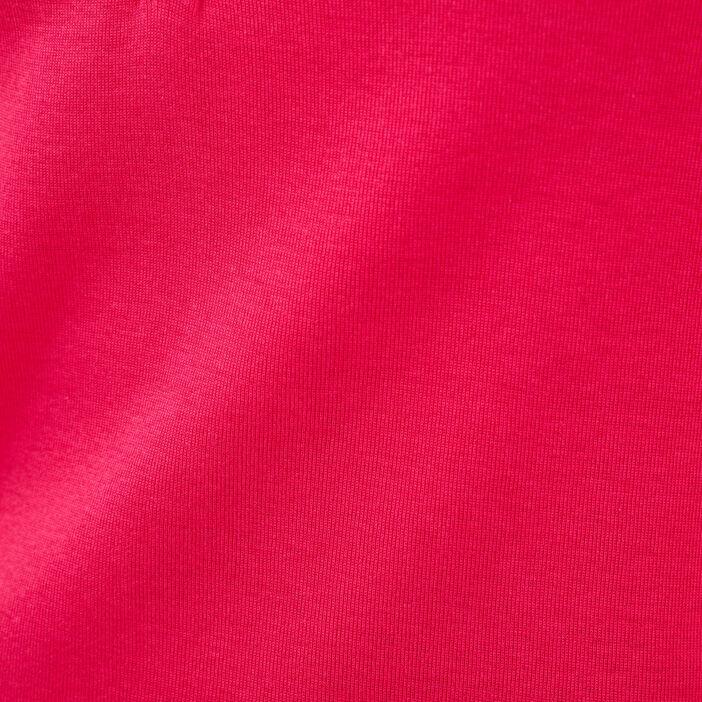 T-shirt manches 3/4 rose femme