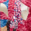 T shirt manches 34 rose femme