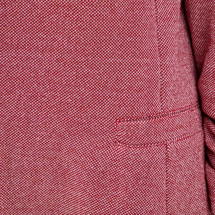 Veste droite rouge femme