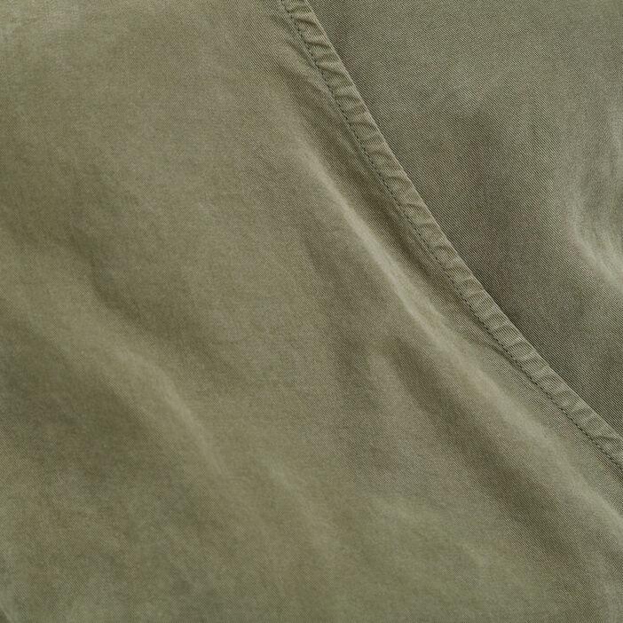 Combinaison pantalon ample vert kaki femme