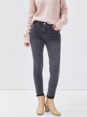 Pantalon ajuste 78eme gris femme