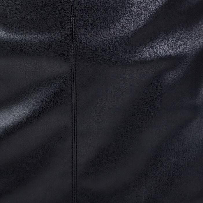 Jupe droite noir femme