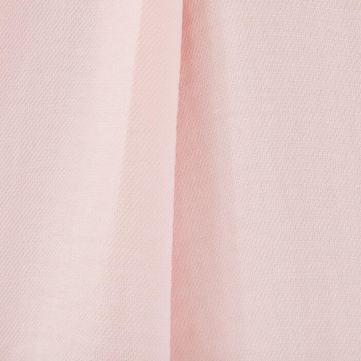 Blouse manches 3/4 rose poudrée femme