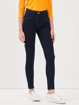 Jeans galbant 78 eme denim brut femme