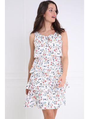 vente chaude en ligne dfbed d1737 Robes courtes blanc 38 femme | Vib's