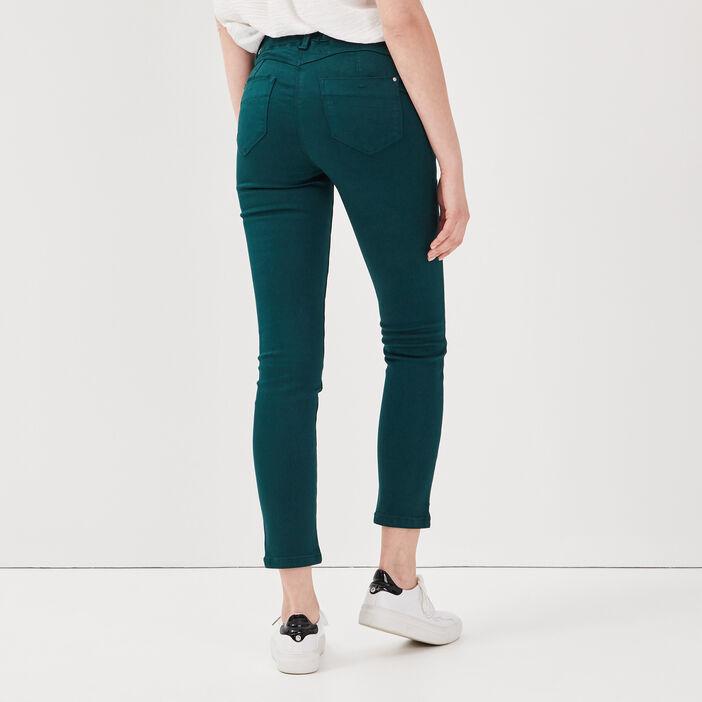 Tregging taille standard vert foncé femme