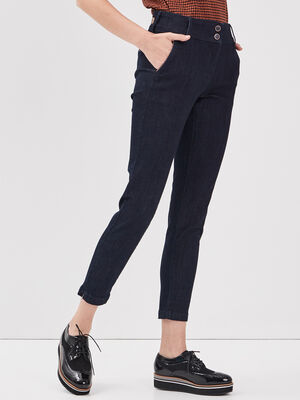 Jeans denim brut femme