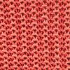 Pull manches 34 ajoure irise orange corail femme