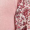 T shirt manches longues rose femme