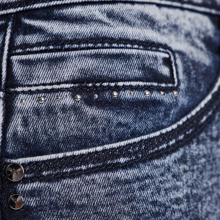 Jeans près du corps denim stone femme