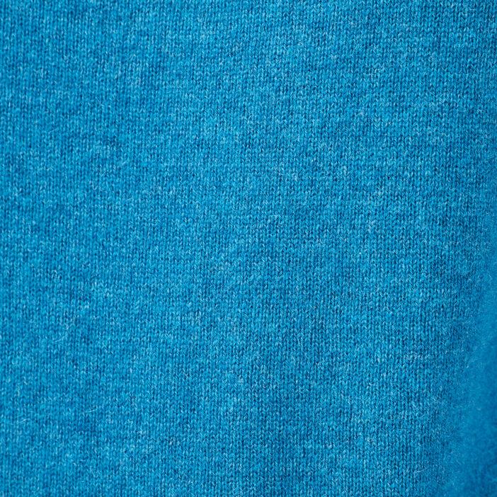 Pull en cachemire bleu femme
