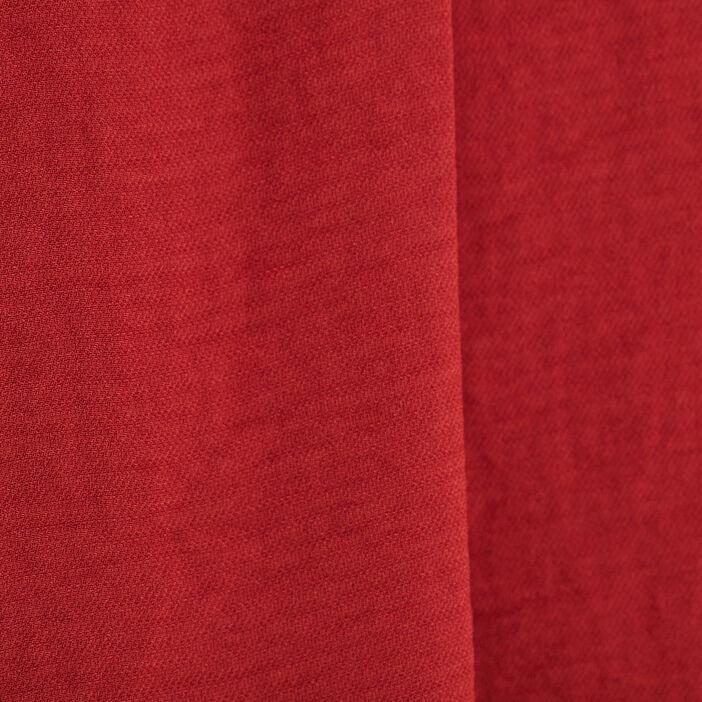 Blouse manches 3/4 rouge foncé femme