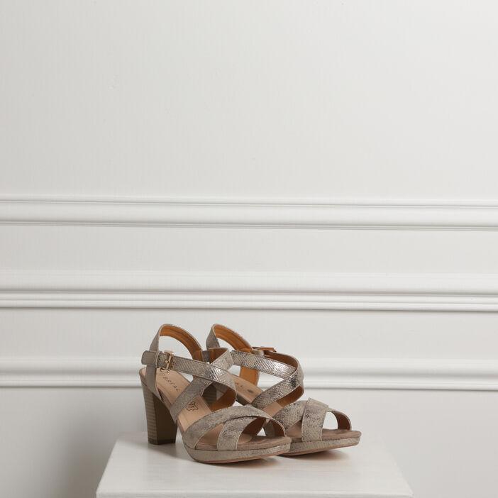 various colors buy online official site Sandales à brides croisées sable femme | Vib's