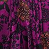 Blouse manches 34 violet femme
