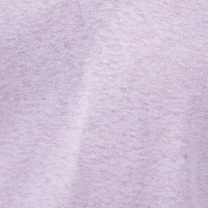 T-shirt manches courtes rose pastel femme