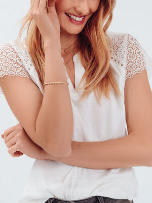 Bracelet cadeau noir femme