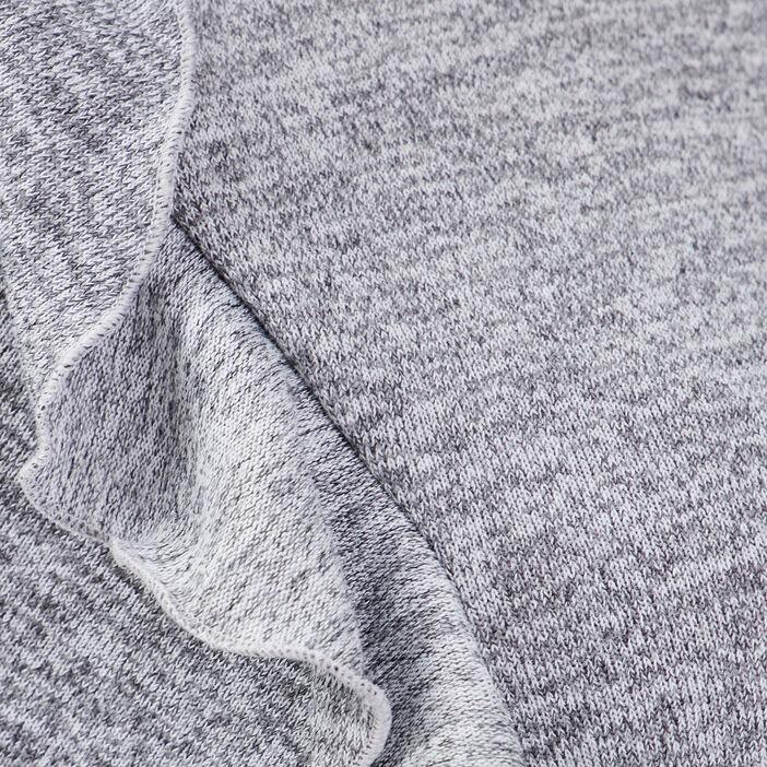 T-shirt manches longues gris clair femme