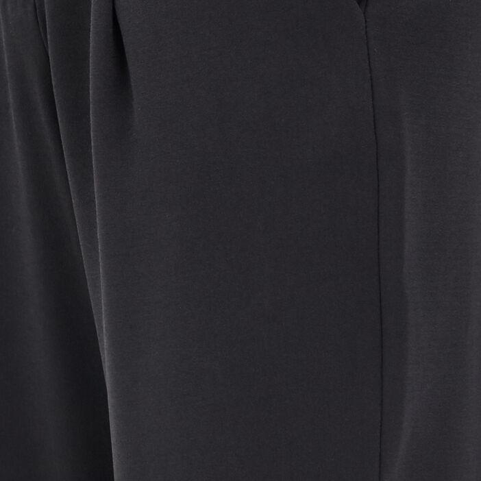 Pantalon flou taille haute noir femme