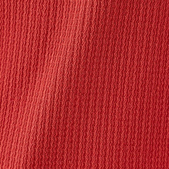 Blouse manches longues orange foncé femme