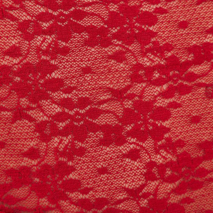 Débardeur bretelles larges rouge femme