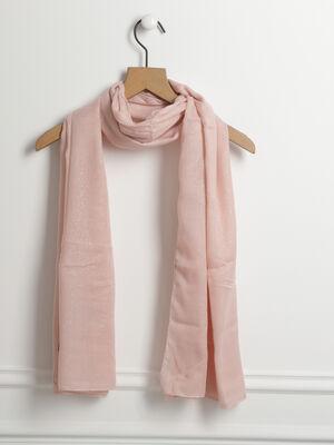 tole rectangulaire paillettes rose clair femme