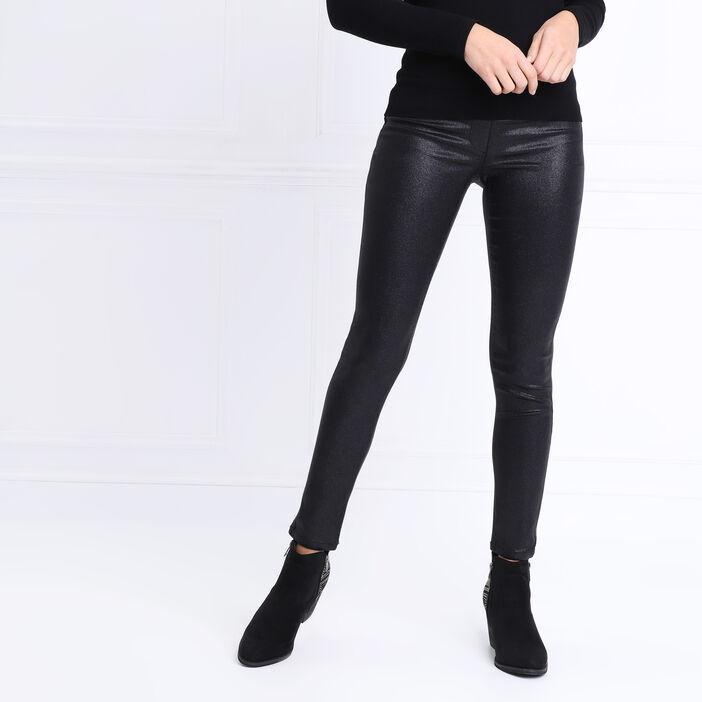 Tregging taille standard noir femme
