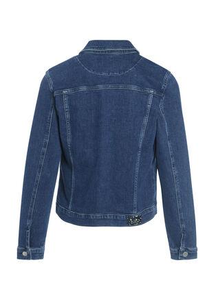 Veste cintree en jean 4 poches denim stone femme