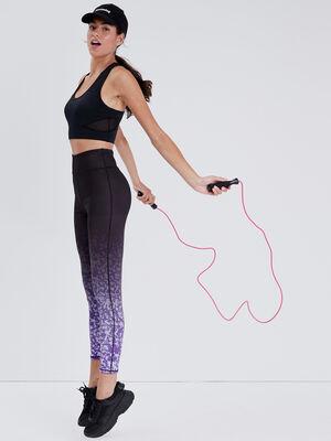 Leggings violet femme