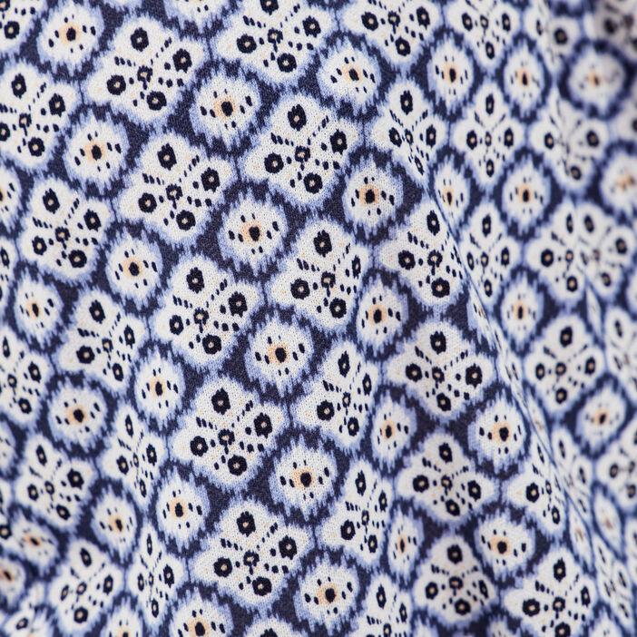 Débardeur bretelles fines bleu marine femme