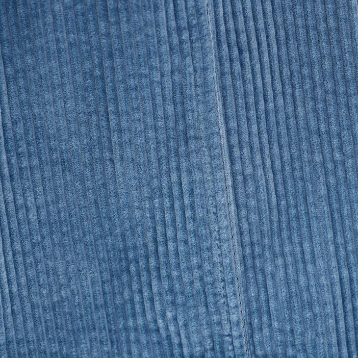 Surchemise manches longues bleu femme