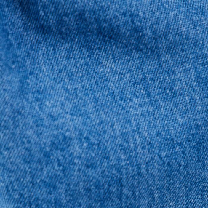 Robe droite en jean denim double stone femme